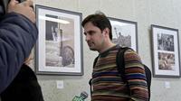 Илья Славутский на открытии выставки  «Фотография – любовь моя»
