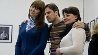 Илья Славутский с Юлей и Лилей