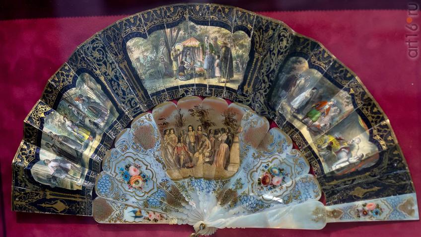 Веер plie из частной коллекции Ольги Затеевой.::Веер. Хранитель красоты и тайн