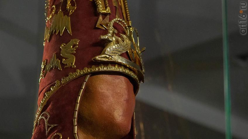 Фото №954572. Головной убор ''Золотого человека''. Реконструкция.