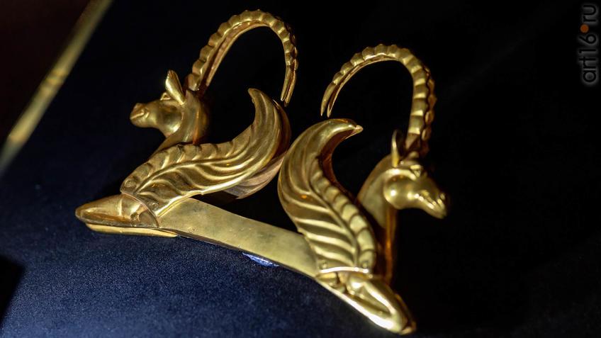 Фото №954582. Протомы крылатых коней с рогами козла (копия)