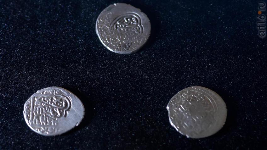 Фото №954587. Монеты эпохи тимуридов. Городище Сайрам. Южный Казахстан. XV в.