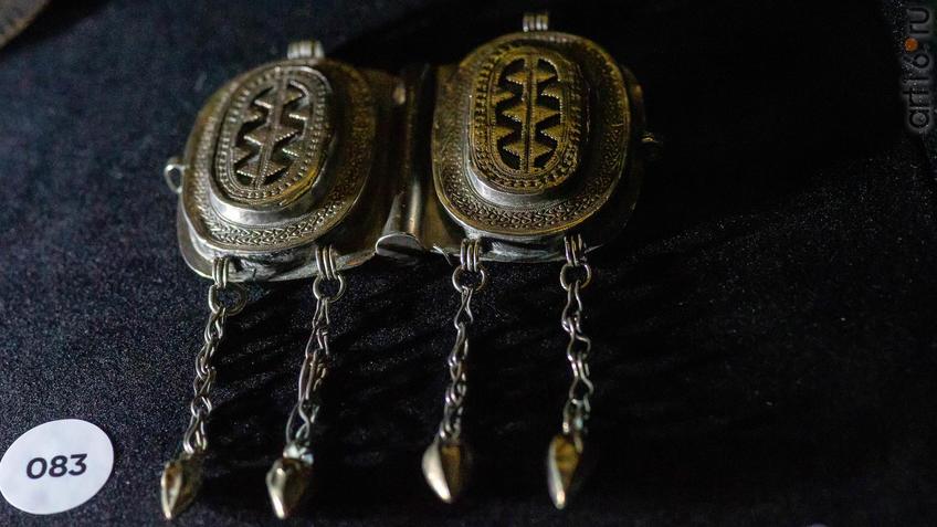 Фото №954597. Капсырма - застежка для одежды. Южный Казахстан . Начало XIX в.