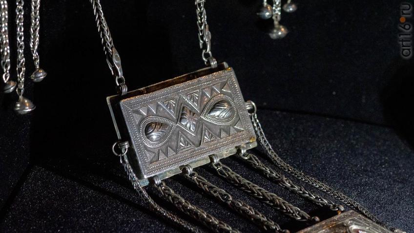 Фото №954637. Ониржиек - нагрудное украшение. Западный Казахстан, конец XIXв.