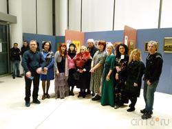 Участники выставочного проекта в Париже ( Казанского отд. ПСХ )