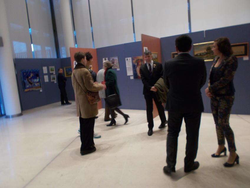 На выставке ʺЧудо-остров Свияжск - культурное наследие Татарстанаʺ ::«Чудо-остров Свияжск - культурное наследие Татарстана» в Париже