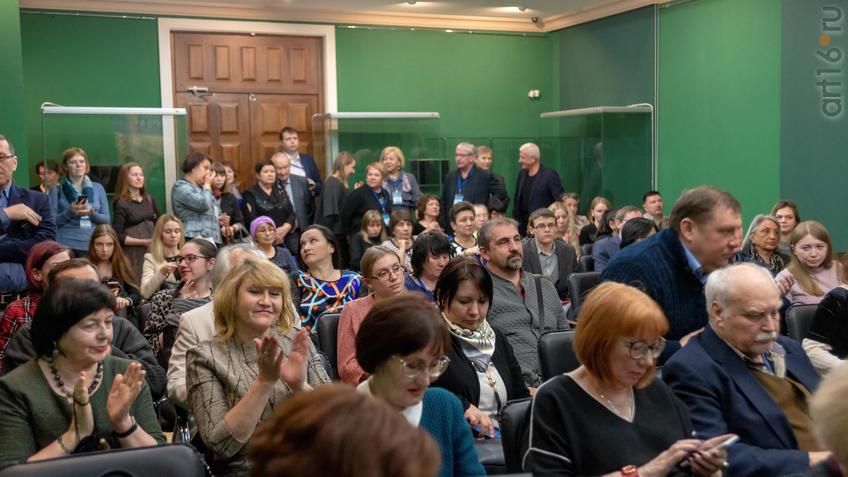 Фото №955446. Пресс-конференция по поводу открытия выставки «Золотая Орда.... »