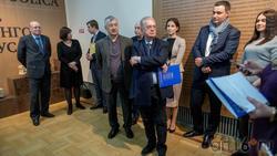 Михаил Пиотровский на открытии выставки в Центре «Эрмитаж-Казань»