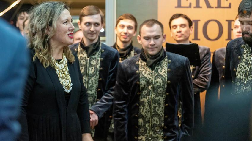 Фото №955461. Миляуша Таминдарова и Государственный камерный хор Республики Татарстан