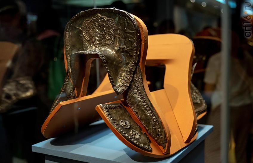 Фото №955521. Макет седла с серебряными обкладками