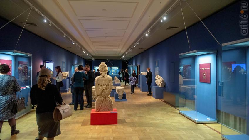 Фото №955596. Фрагмент экспозиции выставки «Золотая Орда ....»