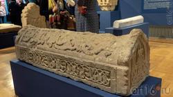 Надгробие с арабской дидактической надписью