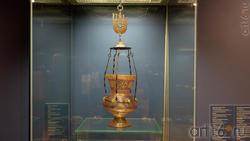 Лампа с подвеской