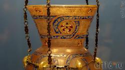 Лампа с подвеской фрагмент