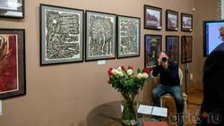 Фрагмент экспозиции выставки Н.Альмеева, посвященный трагедии в Хиросиме (Япония)