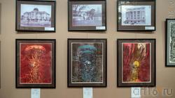 Фрагмент экспозиции, посвященный трагедии в Хиросиме. Н.У.Альмеев