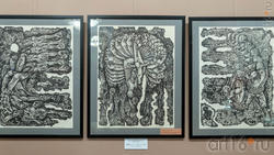 Триптих «Мементо» («Помни»). 1977. Альмеев Н.У.