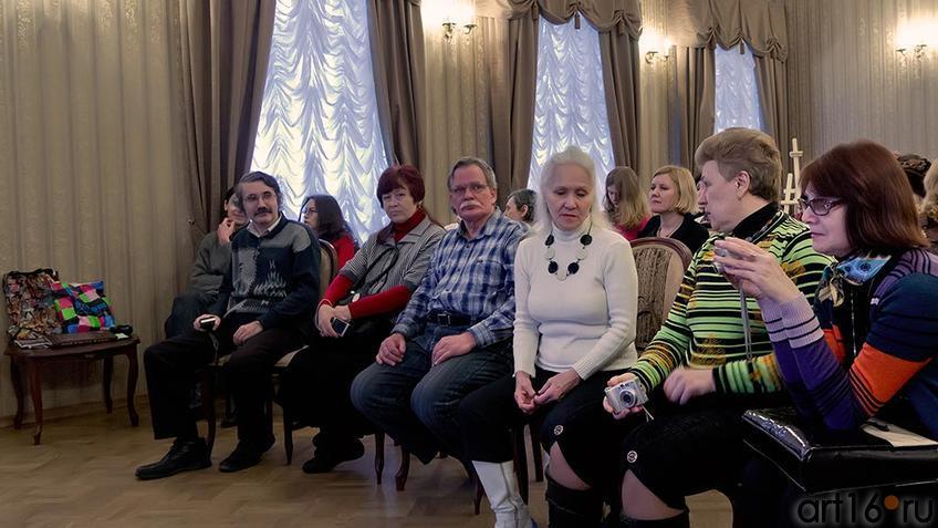 Фото №95606. Поэтические шахматы. Эдуард Учаров – Филипп Пираев. Гости мероприятия