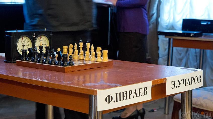 Фото №95615. Поэтические шахматы. Эдуард Учаров – Филипп Пираев