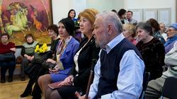 Ирада Аюпова, Зиля Валеева, Абрек Абзгильдин. Открытие выставки А.А.Абзгильдина