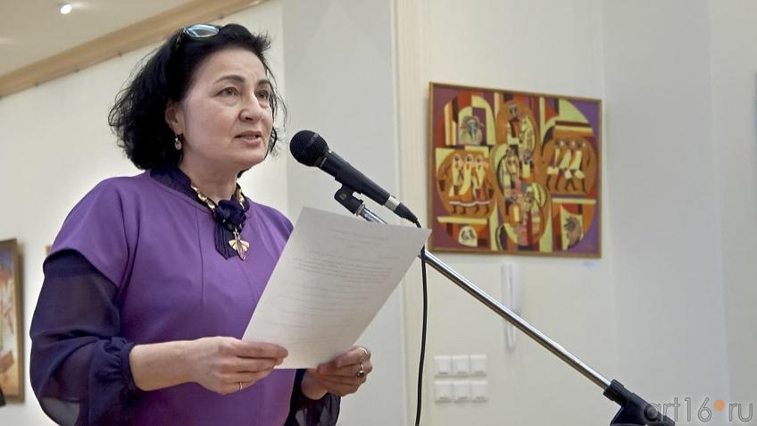 Розалия Нургалеева, директор ГМИИ РТ:: Абрек Абзгильдин