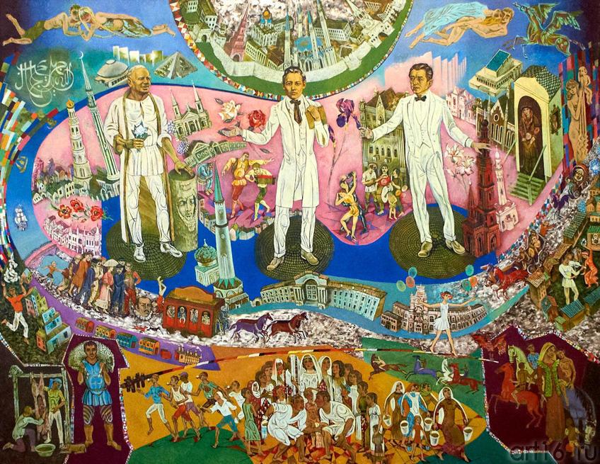 Посвящение Габдулле Тукаю, Баки Урманче, Салиху Сайдашеву. 2005. Абзгильдин А.А. 1937:: Абрек Абзгильдин