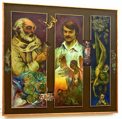 Посвящение Параджанову и Тарковскому. 1985. Абзгильдин А.А. 1937