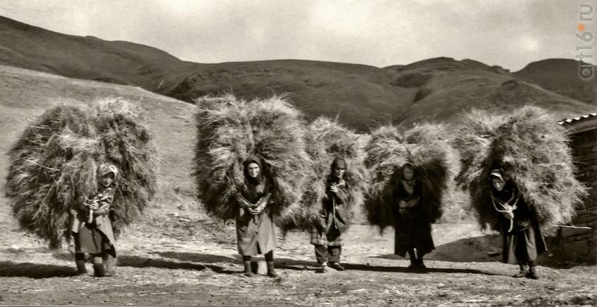 Фото №958615. Фотография. Транспортировка, село Шалиб. 1995. Автор Камиль Чутуев
