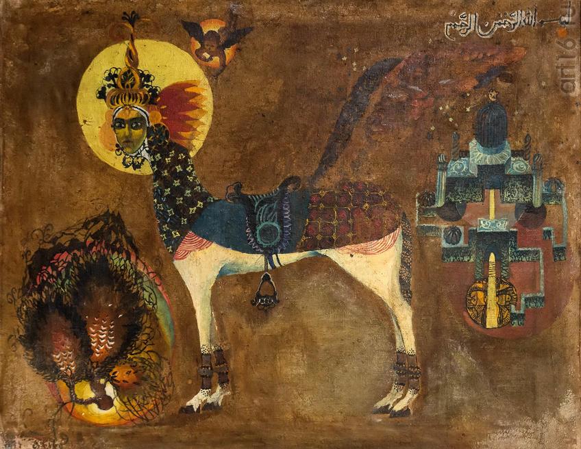 Аль Буракъ. 1968. Ибрагимхалил Супьянов::Transformatio. Современное искусство Дагестана