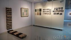 Фрагмент экспозиции  выставки Апанди Магомедова