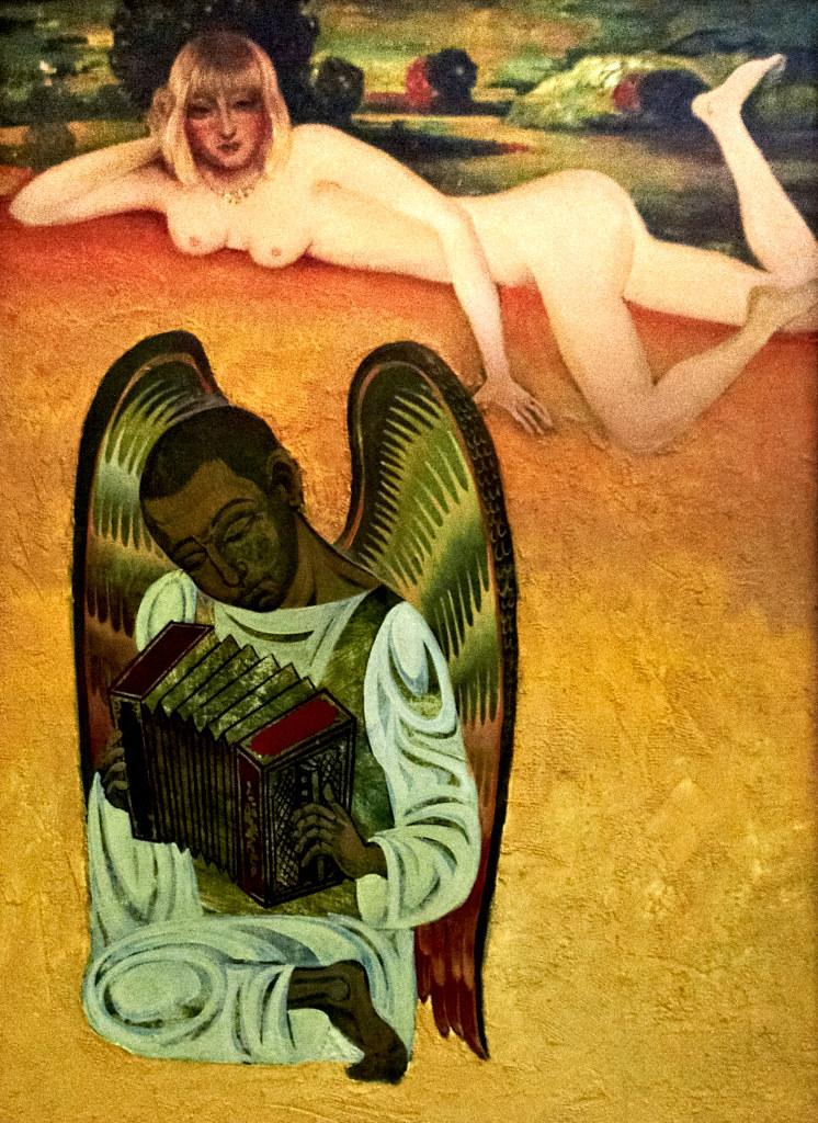 Фото №95880. Ангел и соблазнительница. 1996.  Абзгильдин А.А. 1937