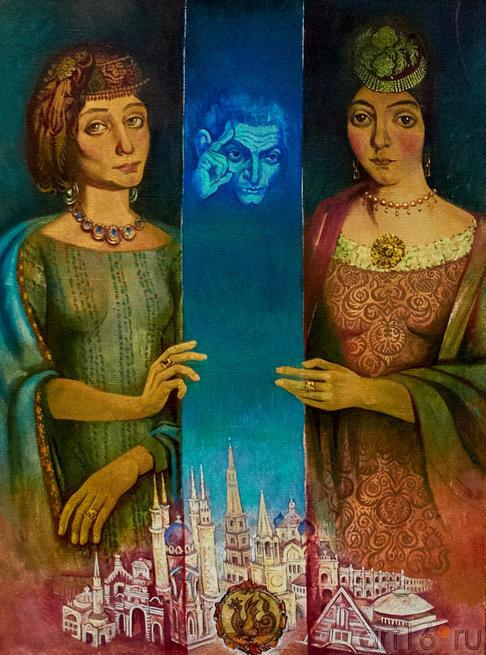 Сестрица красивее сестры. 1999.  Абзгильдин А.А. 1937:: Абрек Абзгильдин