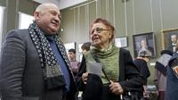 На открытии выставки ''Немцы в Казани''