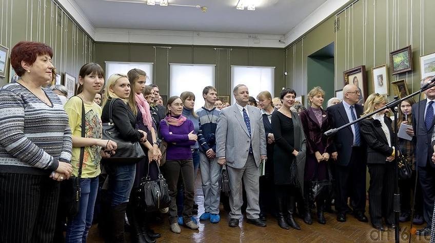 Фото №95973. На церемонии открытия выставки ''Немцы в Казани''