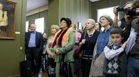 На церемонии открытия выставки ''Немцы в Казани''