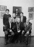 Организаторы выставки ''Художественная династия Визелей''. 1998