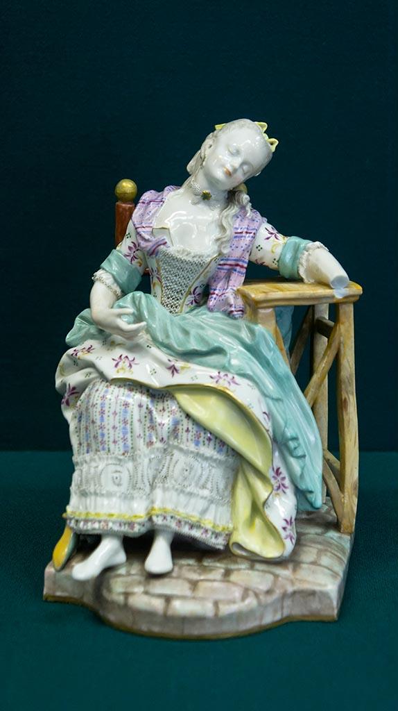 Фото №96061. Скульптура ''Дама в кресле'' (''Заснувшая''). 1770-е