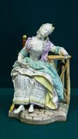 Скульптура ''Дама в кресле'' (''Заснувшая''). 1770-е