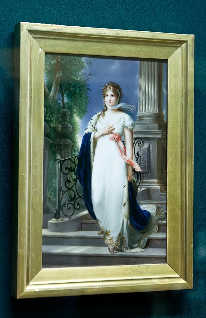 Фото №96081. Пластина с портретом Пруской королевы Луизы. Посл. четв. XIX