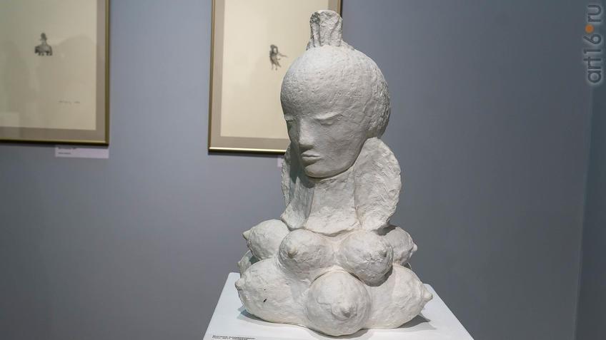 Богиня плодородия. Сабиров Альфиз::Аю бала. Сабиров Альфиз. Выставка