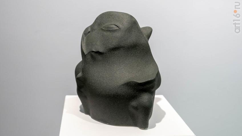 Скульптура.  Автор: Сабиров Альфиз::Аю бала. Сабиров Альфиз. Выставка