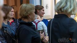 На открытии выставки Сабирова Альфиза