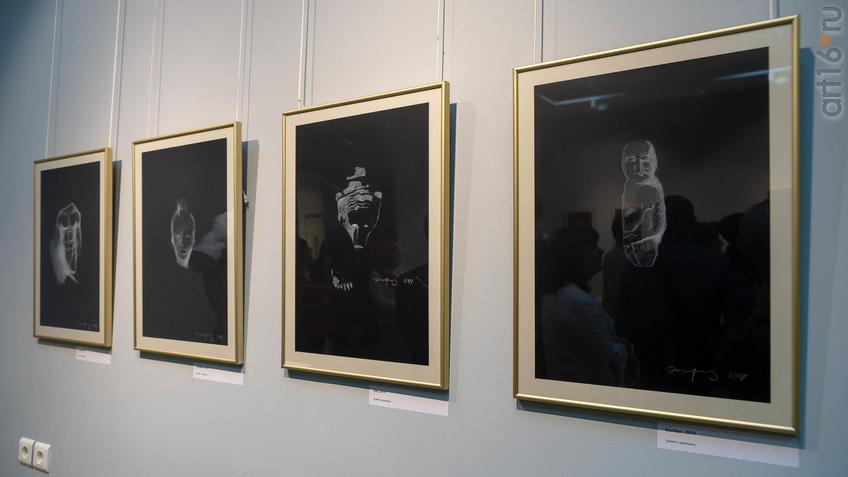 Фрагмент экспозиции выставки «Аю бала» Сабирова Альфиза::Аю бала. Сабиров Альфиз. Выставка