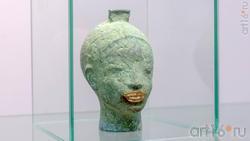 Архаическая улыбка. Голова богини Сау. Сабиров Альфиз