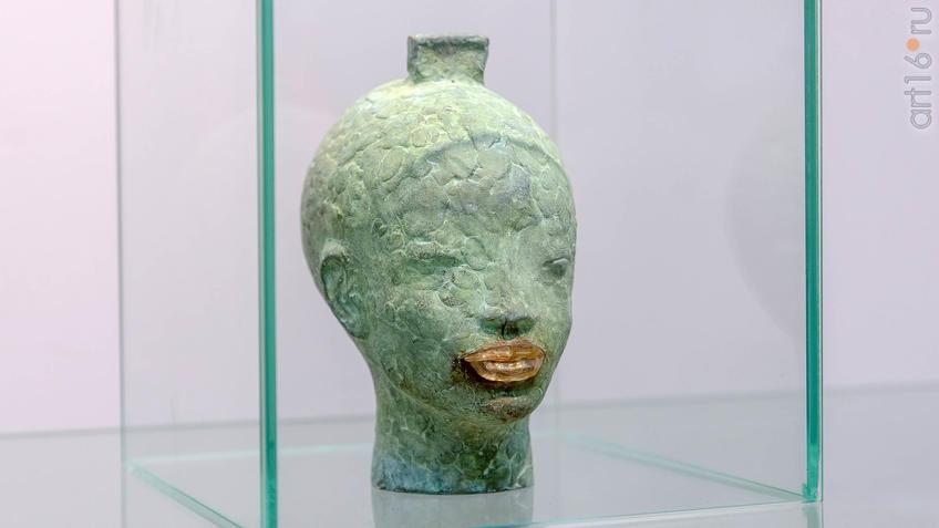 Архаическая улыбка. Голова богини Сау. Сабиров Альфиз::Аю бала. Сабиров Альфиз. Выставка