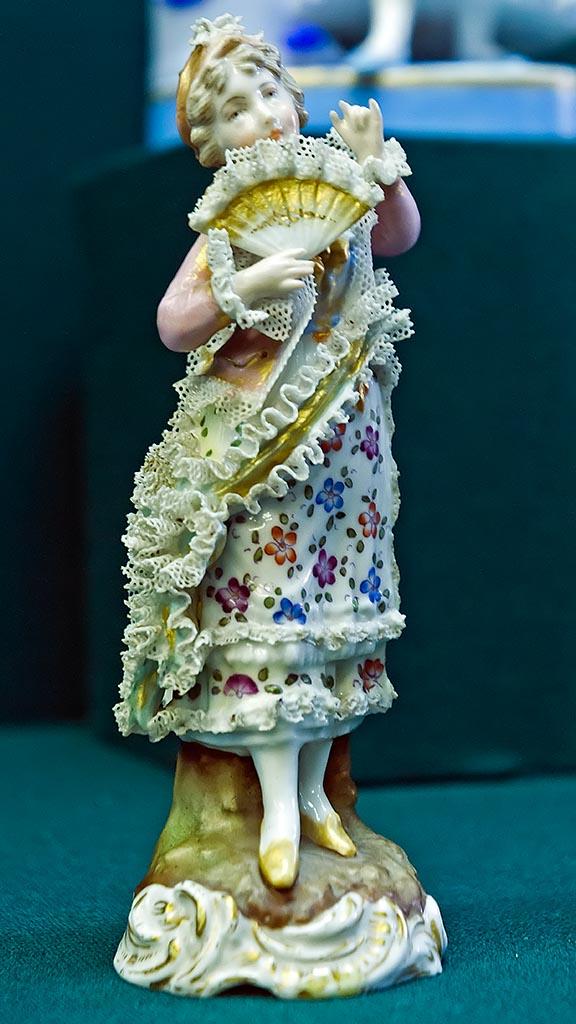Фото №96113. Скульптура ''Дама с веером''. 1887-1900