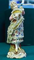 Скульптура ''Дама с веером''. 1887-1900