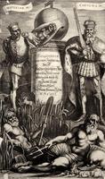Топография Саксонии. 1653. Титульный лист. Матеус Мериан I (1593-1650)
