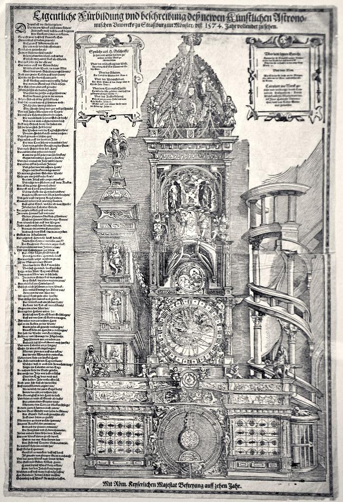 Фото №96133. Астрономические часы в Страсбургском соборе. 1574. Тобиас Штиммер (1539-1584)