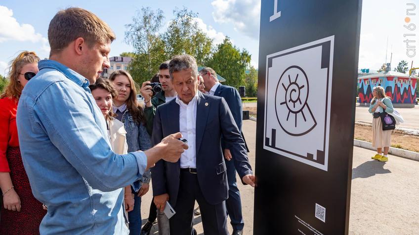 Маганов Н.У., генеральный директор ПАО «Татнефть»::Паблик-арт программа «Сказки о золотых яблоках»
